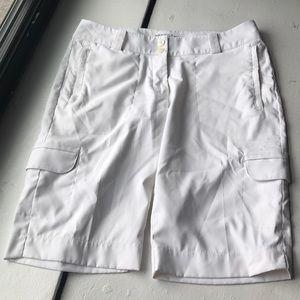 NikeGolf Dri-Fit white shorts 6